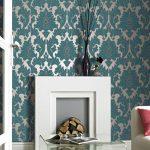 Barockes Wohngefühl durch wertvolle Materialien und reichverzierte Elemente