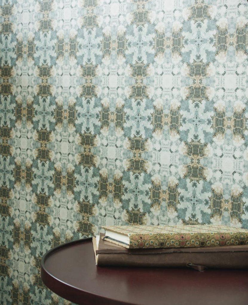 Tapete Blau Muster : gemusterte tapeten archives tapetenstudio blog ~ Watch28wear.com Haus und Dekorationen