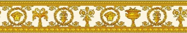 Brodüre Versace Vanitas Weiß