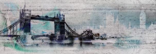 Fototapete London Graffiti