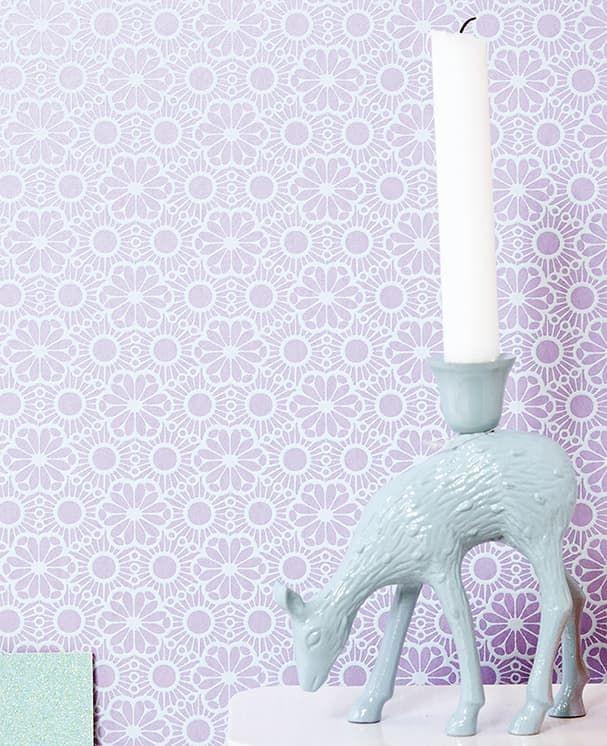 Die tapete corletta violett von eijffinger for Tapete violett