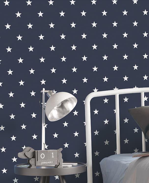 Tapete Estrella Dunkelblau