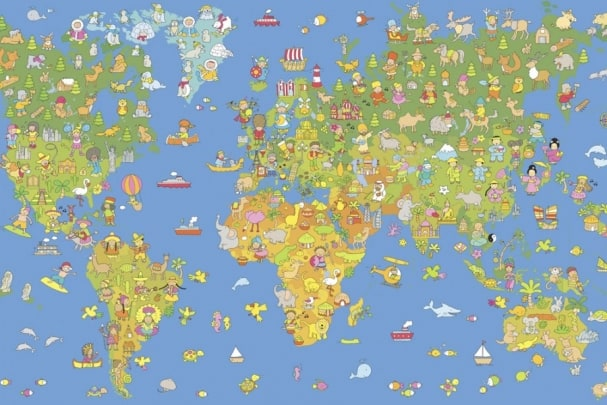 Tapete World Map