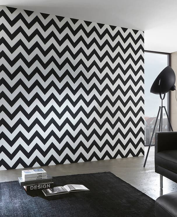 tapete zigzag 01. Black Bedroom Furniture Sets. Home Design Ideas