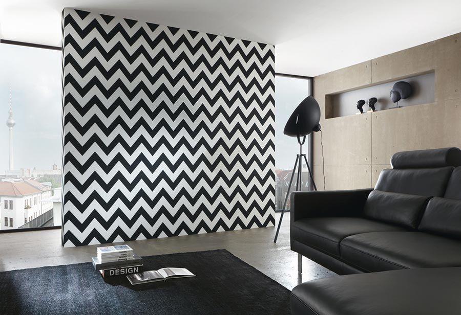 tapete zigzag 01. Black Bedroom Furniture Sets. Home Design Ideas