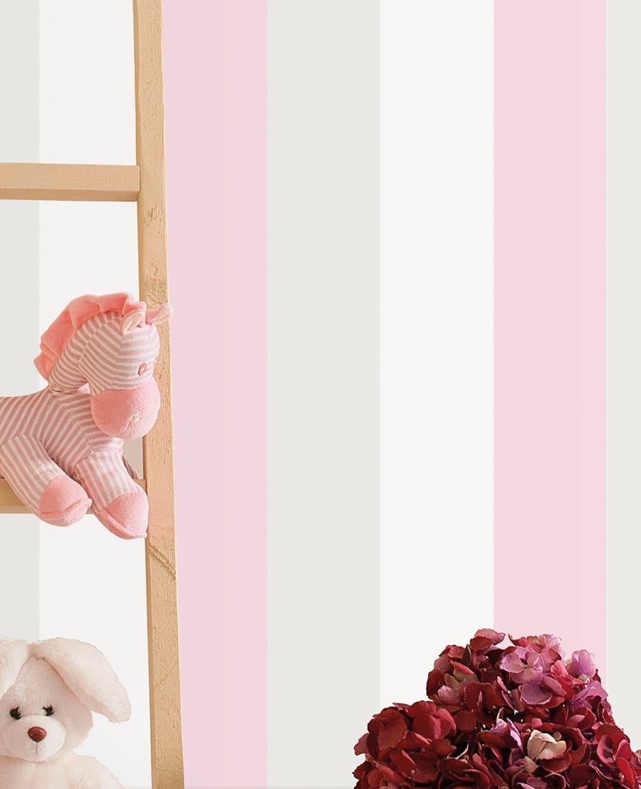 Tapete kurby von rasch textil for Streifentapete kinderzimmer