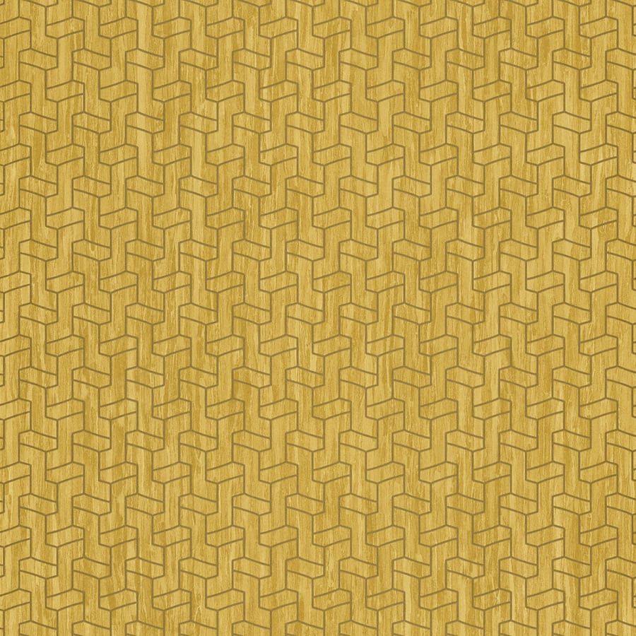 Tapete armstrong gelb von casamance for Tapete gelb