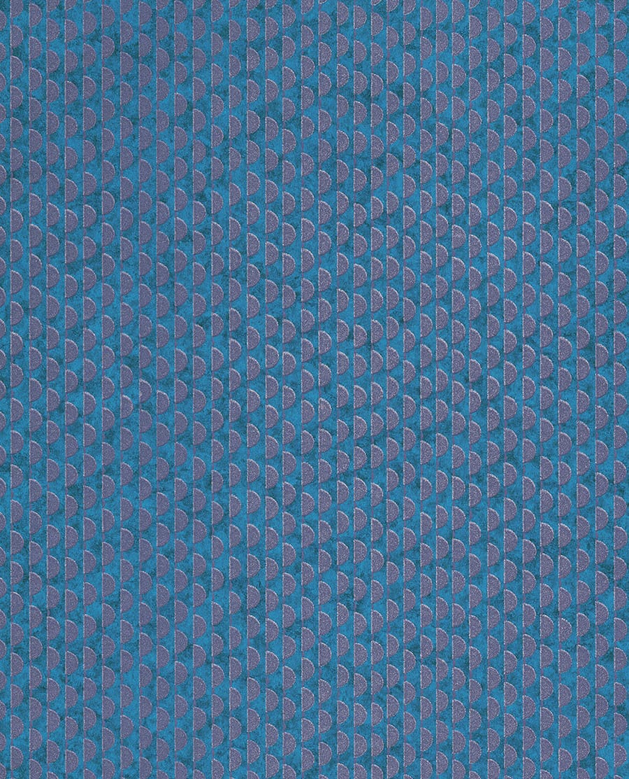 Tapete demi blau von eijffinger for Tapete blau