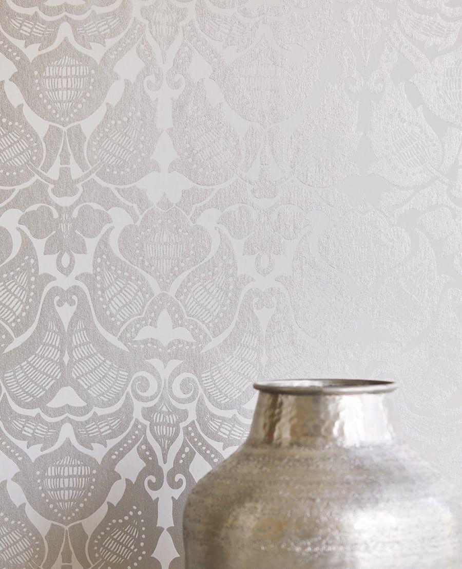 Tapete Illusion Silber Von Eijffinger Aus Der Kollektion Lounge