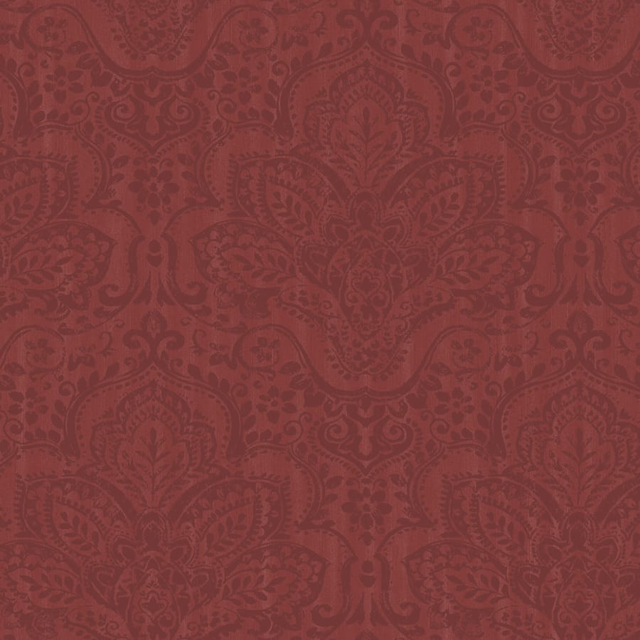 tapete jasmine rot von casadeco. Black Bedroom Furniture Sets. Home Design Ideas
