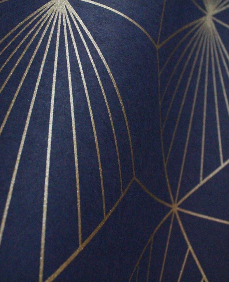 Die Tapete Keno Blau Von Eijffinger