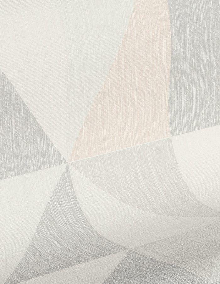 Skandinavische Designtapete Noelia in Rosa von AS Creation