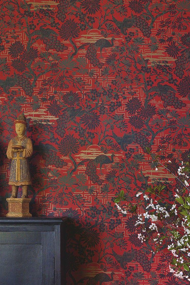 tapete orangerie 03. Black Bedroom Furniture Sets. Home Design Ideas