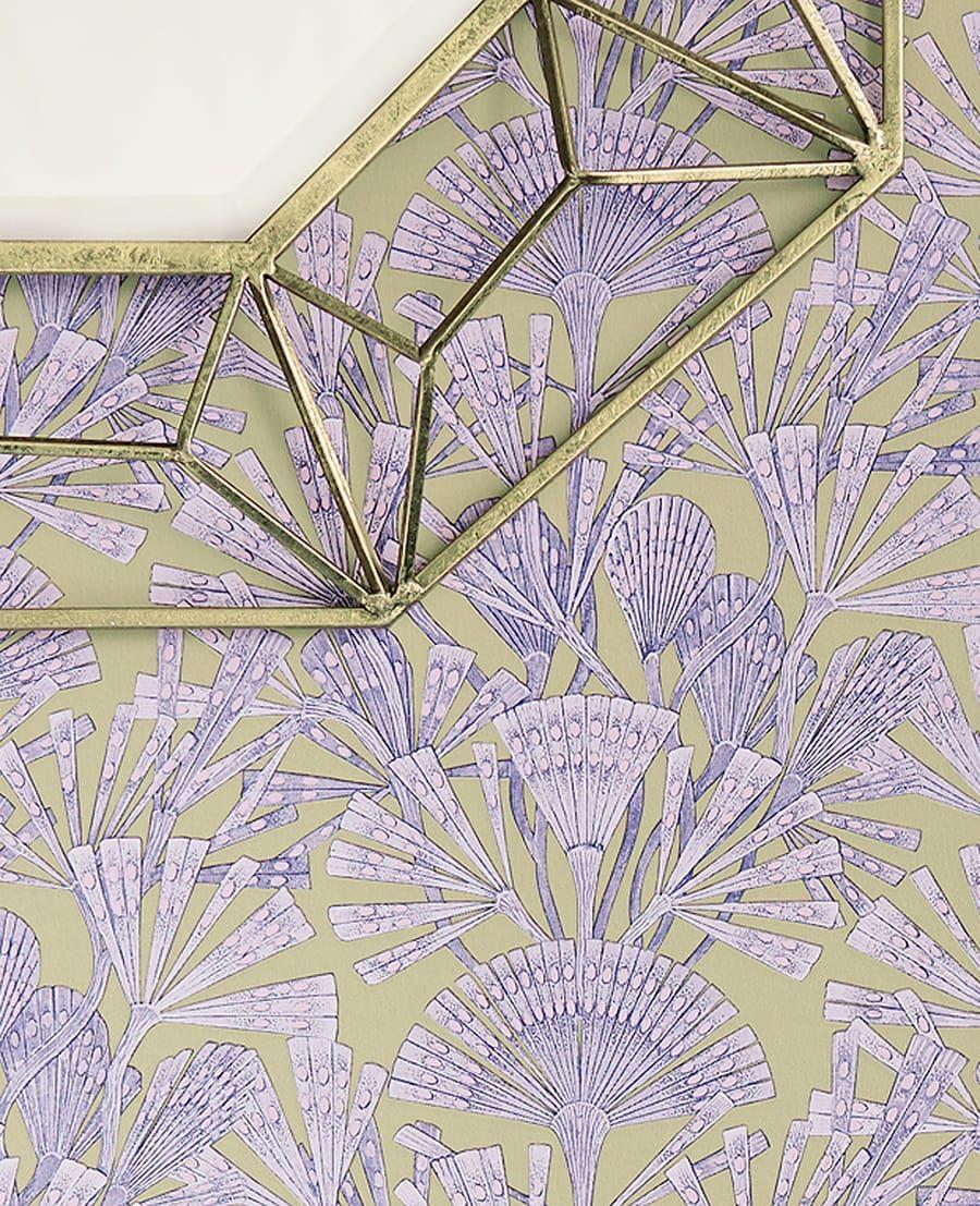 Die tapete sephora violett von eijffinger for Tapete violett
