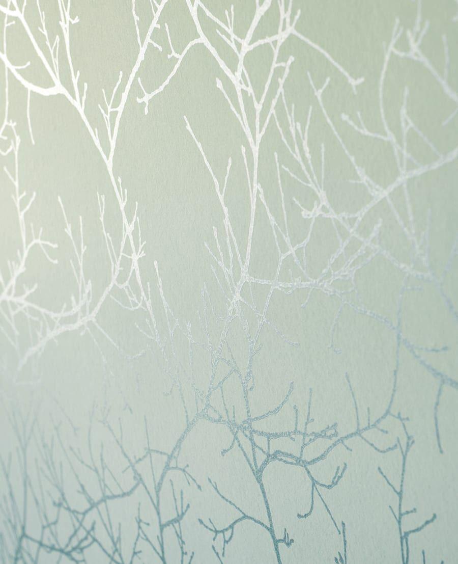 Wohlbefinden Durch Wandgestaltung Tapete Valea Grun Von Casadeco