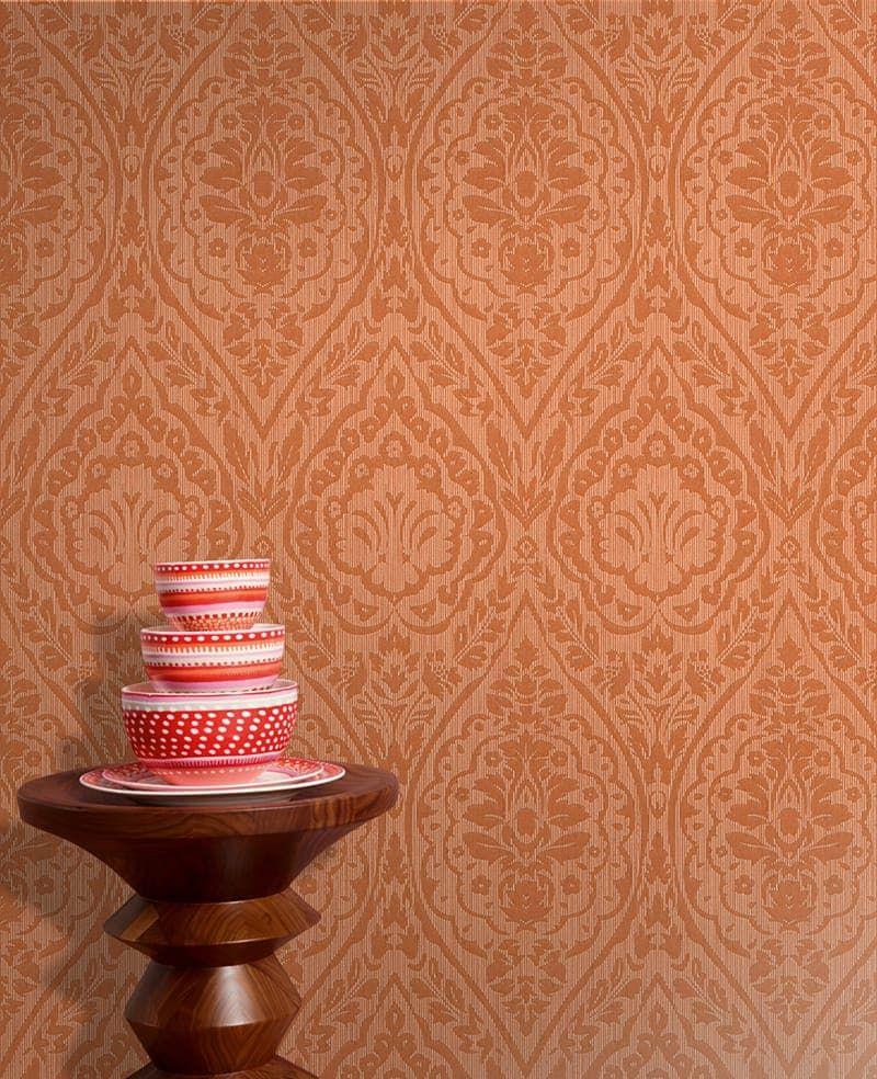 tapete vertou orange von as creation. Black Bedroom Furniture Sets. Home Design Ideas