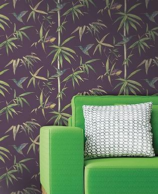 AKTION - Tapete Bambou Violett
