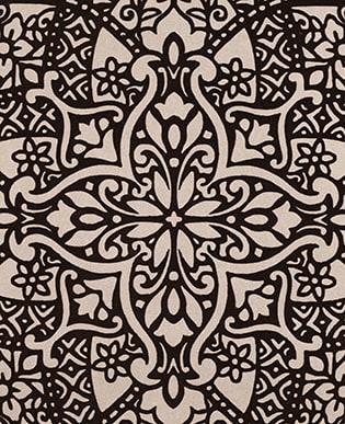 Byzantine Flock Charcoal