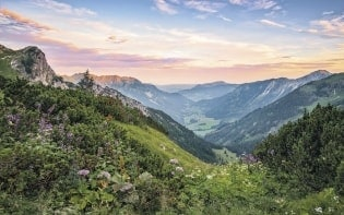 Fototapete Alps