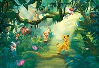Fototapete Lion King Jungle