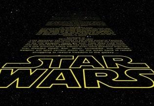 Fototapete Star Wars Intro