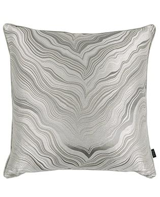 Kissen Marbleous Dusk - Zinc