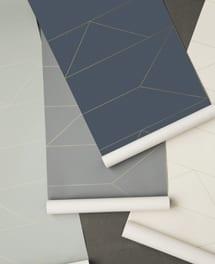Lines Wallpaper Weiß