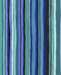 Streifentapete Naima Blau
