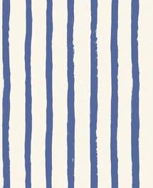Streifentapete Stripley Blau