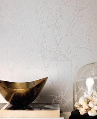 Tapete Arbor-Beads Whitewash