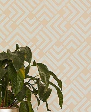 Eijffinger Geonature - Tapeten im Art Deco Stil