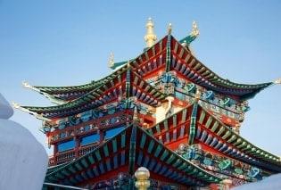 Tapete Asiatische Tempel