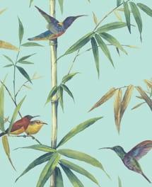 Tapete Bambou Blau