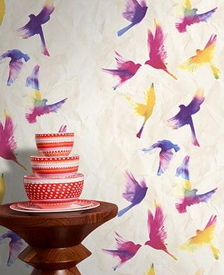 Tapete Birds