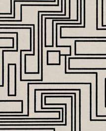 Tapete Electro Maze Monochrome