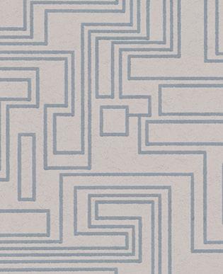 Tapete Electro Maze Silver
