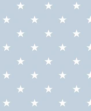 Tapete Estrella Hellblau