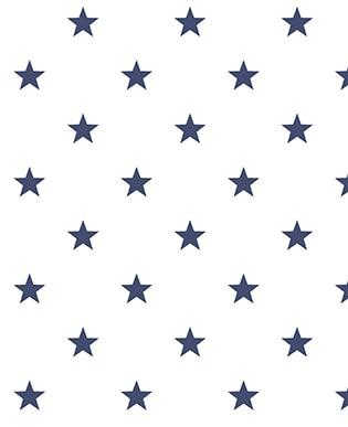 Tapete Estrella Weiß