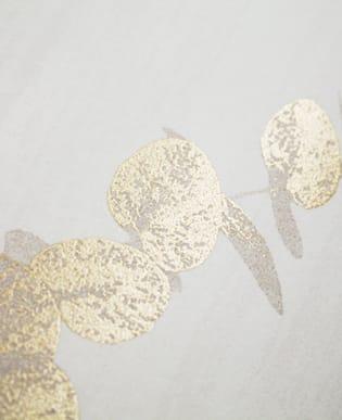 Tapete Eukalypto Weiß