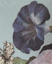 Tapete Geraldine Blau