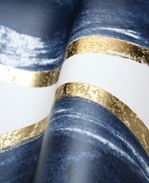 Tapete Golding Blau