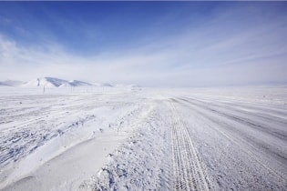 Tapete Ice Road