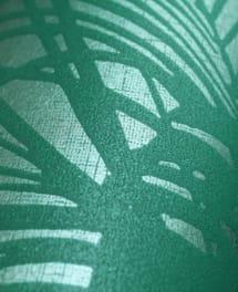 Tapete Leaves Grün