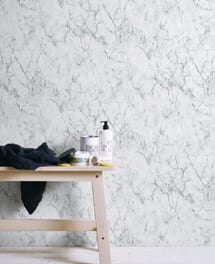 Tapete Marble Weiß