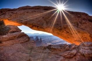 Tapete Mesa arch