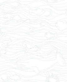 Tapete Ozean Türkis