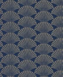 Tapete Seashell Blau