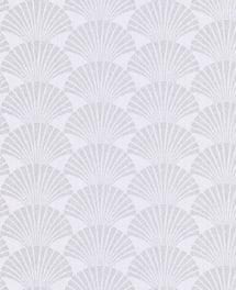 Tapete Seashell Weiß