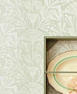 Tapete Sephora Grün