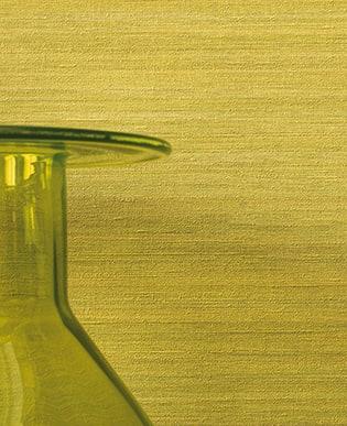Tapete Silk Gelbgrün